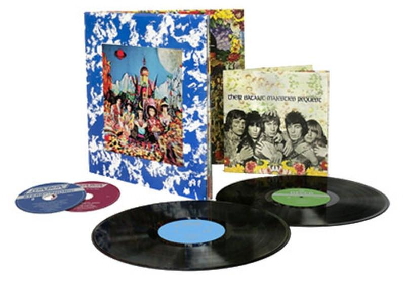 Rolling Stones, The - Their Satanic Majesties Request [2LP+2SACD] (50th Anniversary, 180 Gram, restored 3-D Lenticular Cover, Mono and Stereo mixes, remastered, 20-page book, hand-numbered, limited) - Urban Vinyl | Records, Headphones, and more.