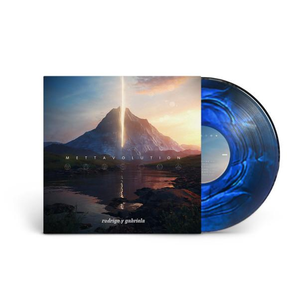 Rodrigo Y Gabriela - Mettavolution [LP] (Blue And Black 'Galaxy' Colored Vinyl) - Urban Vinyl | Records, Headphones, and more.