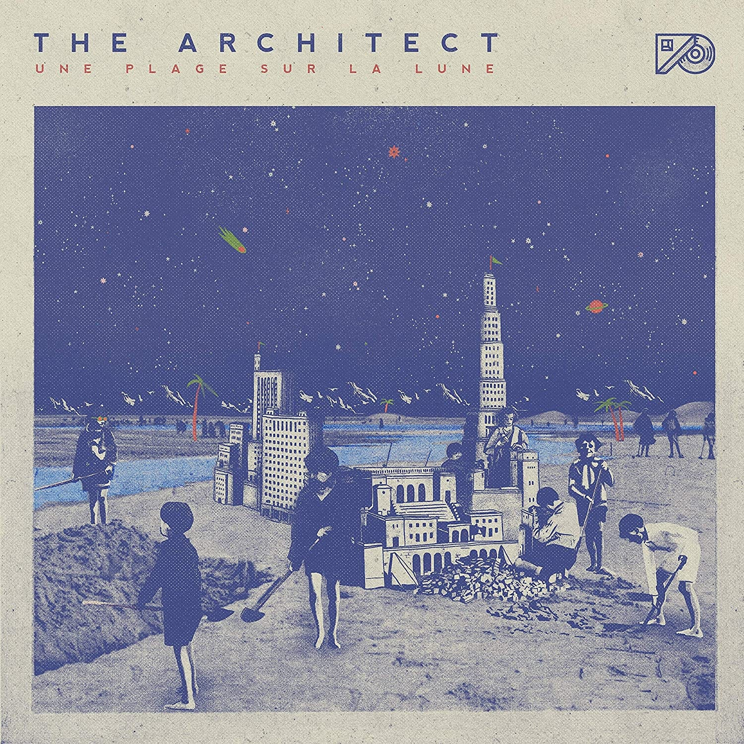 Architect - Une Plage Sur La Lune [LP] (import) - Urban Vinyl | Records, Headphones, and more.