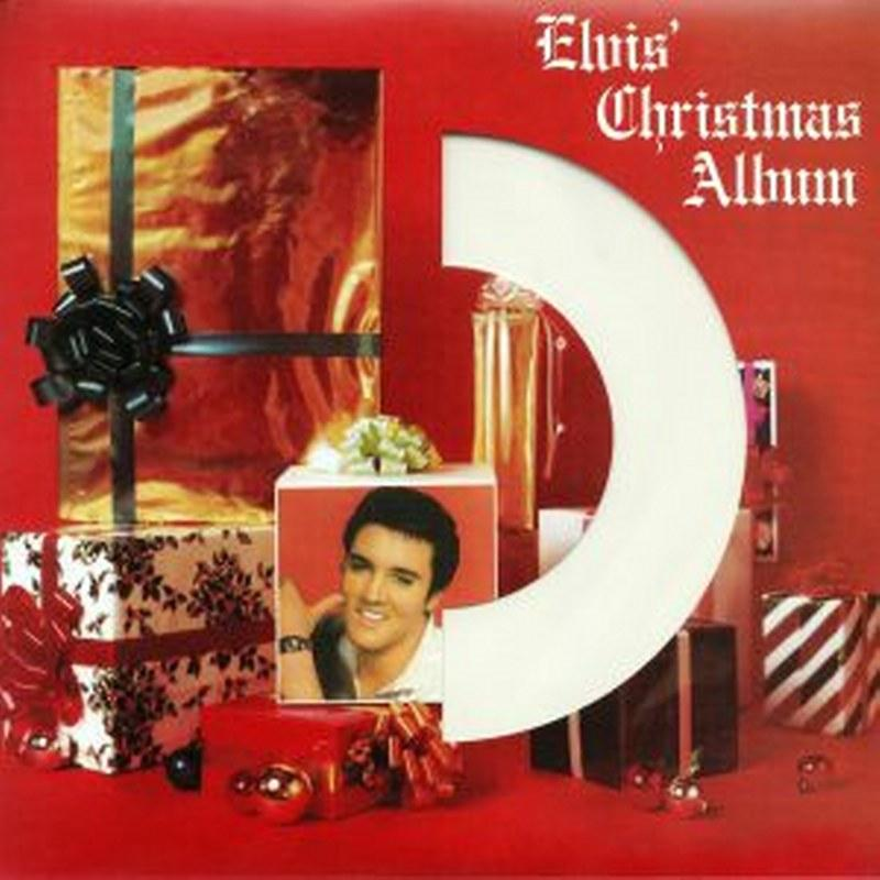 Elvis Presley - Elvis' Christmas Album [LP] (180 Gram, White Vinyl, die-cut sleeve, limited) - Urban Vinyl | Records, Headphones, and more.
