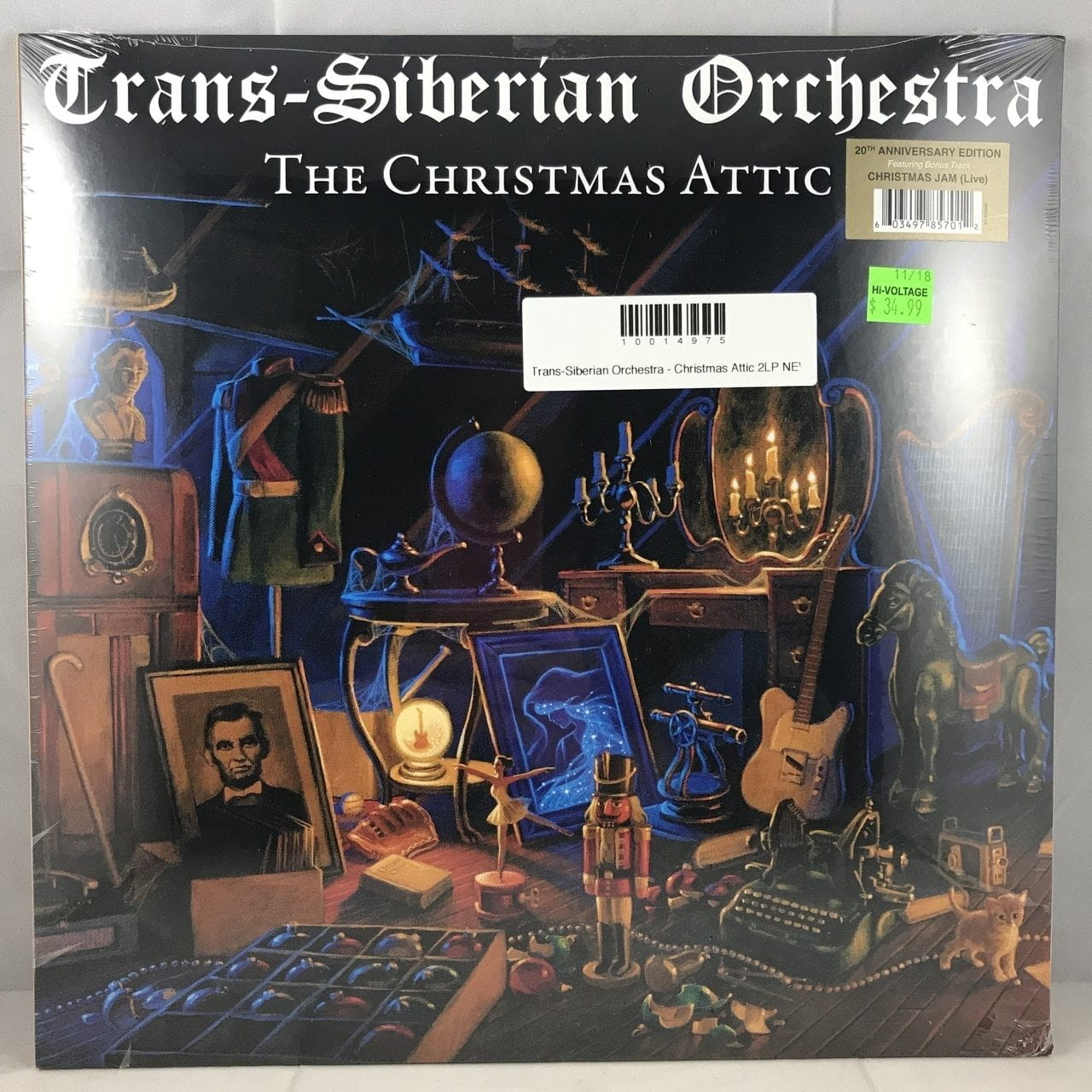 Trans-Siberian Orchestra - The Christmas Attic (20th Anniversary Edition) [2LP] - Urban Vinyl | Records, Headphones, and more.