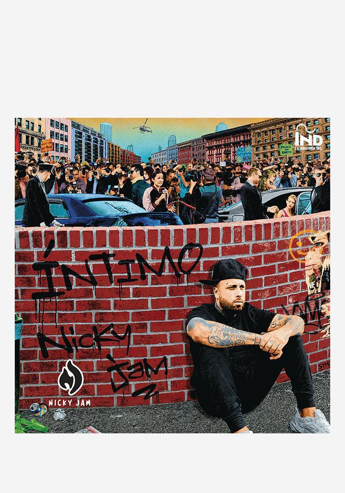 Nicky Jam - Intimo [2LP] - Urban Vinyl | Records, Headphones, and more.