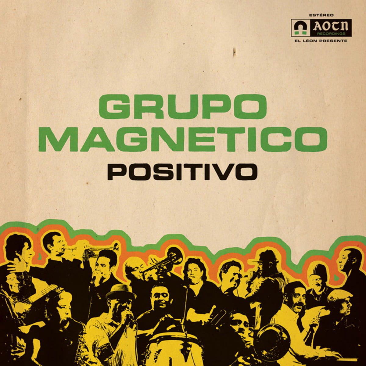 Grupo Magnetico - Positivo [LP] (Vinyl) - Urban Vinyl | Records, Headphones, and more.