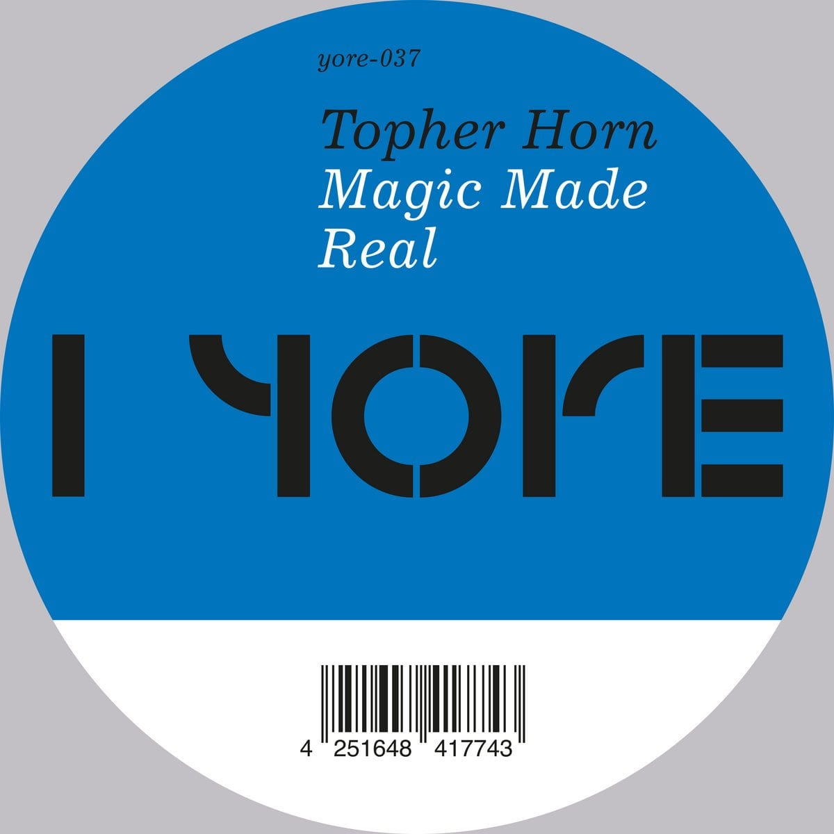 Topher Horn - Magic Made Real [12''] (import) - Urban Vinyl | Records, Headphones, and more.