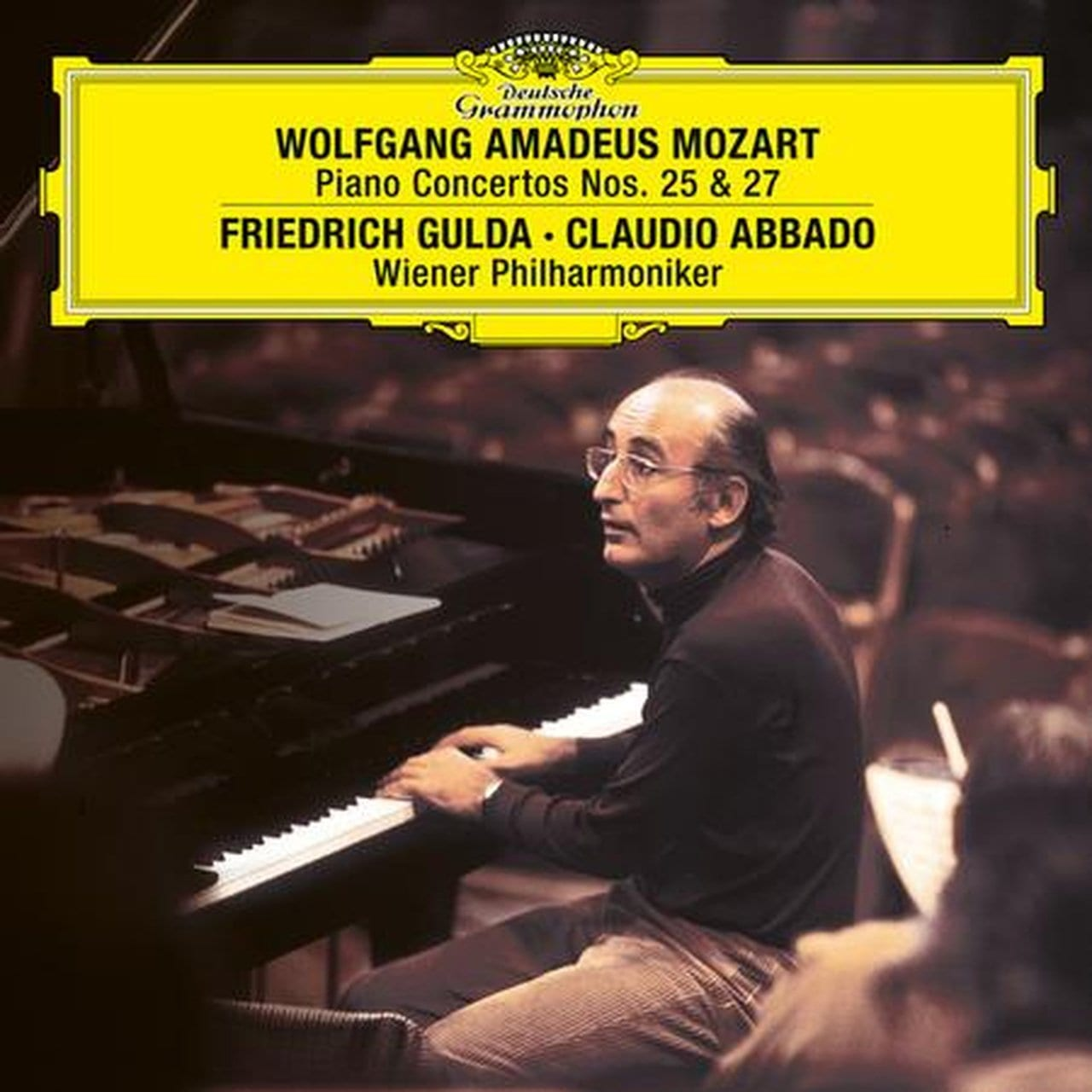 Wiener Philharmonica/Claudio Abbado/Friedrich Gulda - Piano Concertos Nos. 25 & (W.A. Mozart) [2LP] (180 Gram, import) - Urban Vinyl | Records, Headphones, and more.
