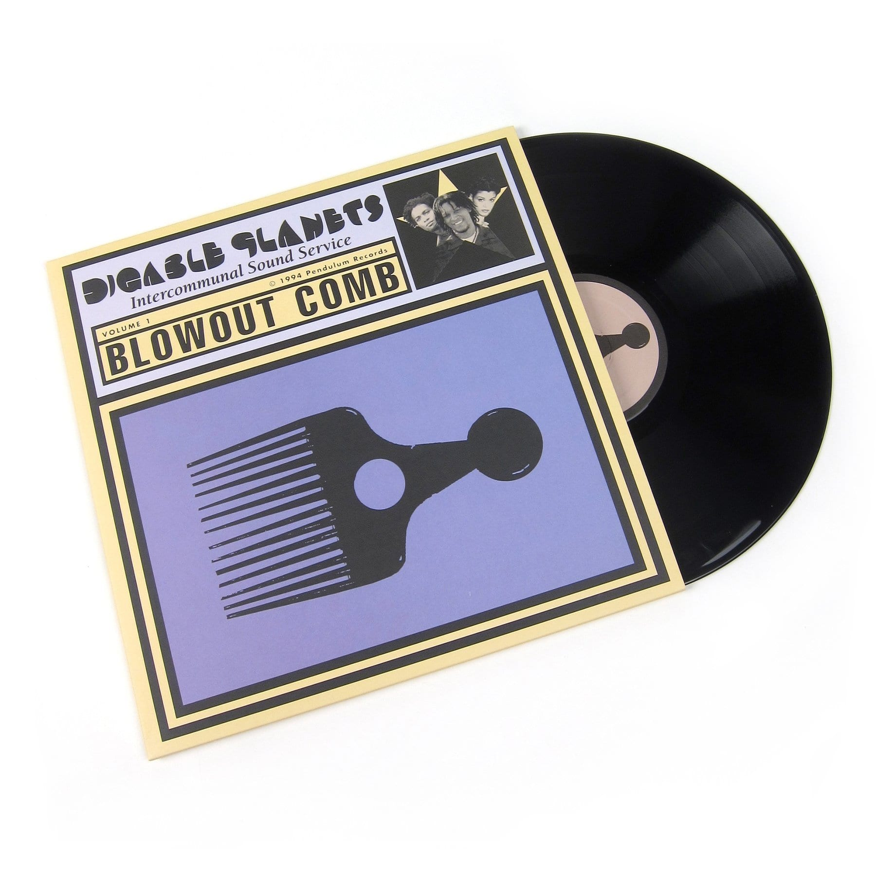 Digable Planets - Blowout Comb [2LP] - Urban Vinyl | Records, Headphones, and more.