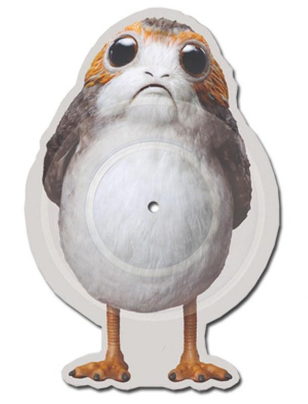 John Williams - Star Wars: The Last Jedi: The Rebellion Is Reborn b/w Canto Bight [10''] (Porg-SHAPED/die-cut vinyl, limited) - Urban Vinyl | Records, Headphones, and more.
