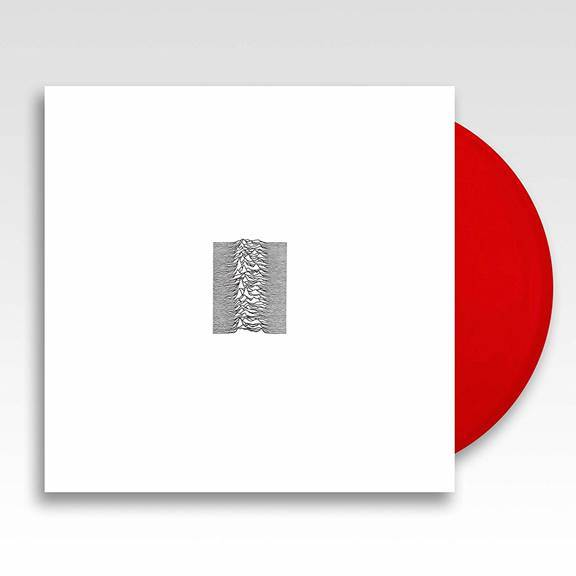 Joy Division - Unknown Pleasures [LP] (Ruby Red Vinyl, 40th Anniversary Edition, alternative white sleeve, limited)