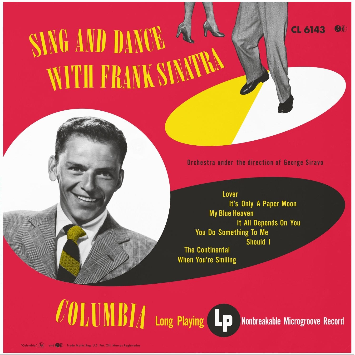 Frank Sinatra - Sing And Dance With Frank Sinatra [LP] (180 Gram Audiophile Vinyl, numbered/limited to 5000)