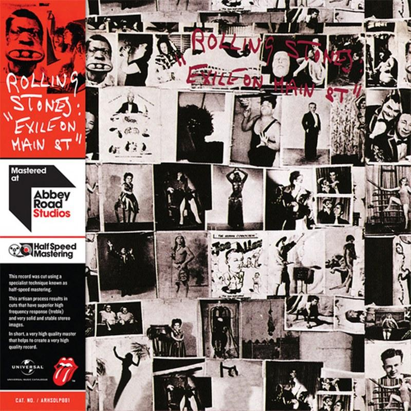 Rolling Stones, The - Exile On Main Street [2LP] (180 Gram, half-speed mastered vinyl, widespine, obi-strip) - Urban Vinyl | Records, Headphones, and more.