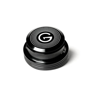 GrooveWasher - Record Stabilizer Weight (Black) (10-pack, 14oz milled aluminum with rubber base, includes storage box)