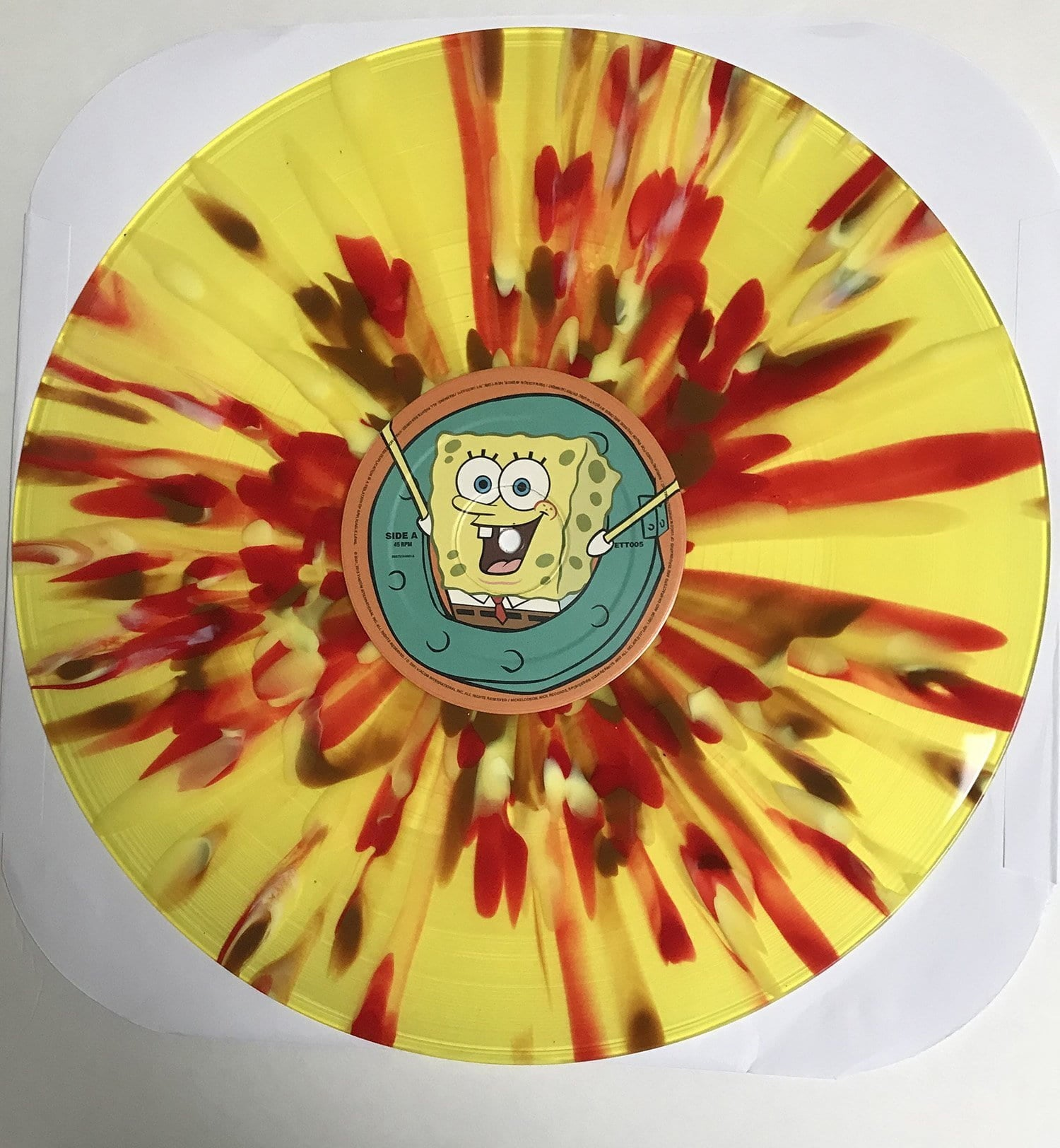 Various Artists - Spongebob Squarepants: Original Theme Highlights [LP] (Tri Color Split ''Spongebob Squarepants'' Yellow/White/Brown Colored Vinyl, foldout insert, limited to 500) - Urban Vinyl | Records, Headphones, and more.