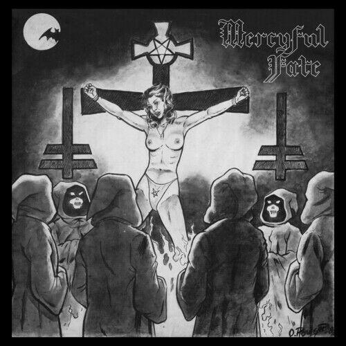 Mercyful Fate - Nuns Have No Fun [LP] (Black/White Colored Vinyl, reissue, download, limited) - Urban Vinyl | Records, Headphones, and more.