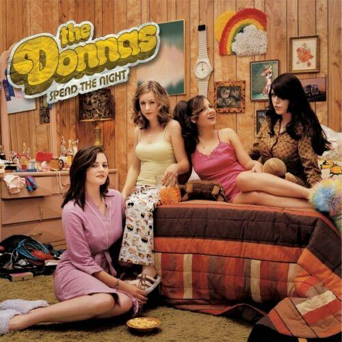 Donnas, The - Spend The Night (Deluxe) [2LP] (Yellow Colored 180 Gram Vinyl, insert, gatefold) - Urban Vinyl | Records, Headphones, and more.