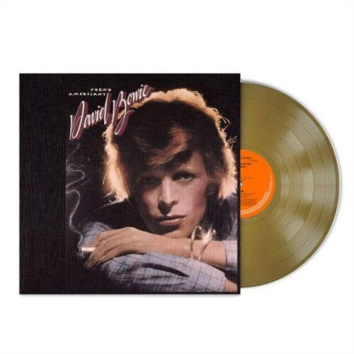 David Bowie - Young Americans [LP] (Gold Vinyl, limited, brick and mortar exclusive) - Urban Vinyl | Records, Headphones, and more.