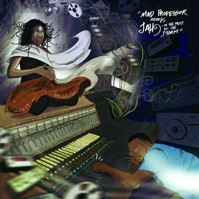 Mad Professor & Jah9 - Mad Professor Meets Jah9 In The Midst Of The Storm [LP] - Urban Vinyl | Records, Headphones, and more.
