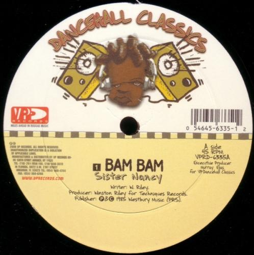 Sister Nancy - Bam Bam [12''] - Urban Vinyl | Records, Headphones, and more.