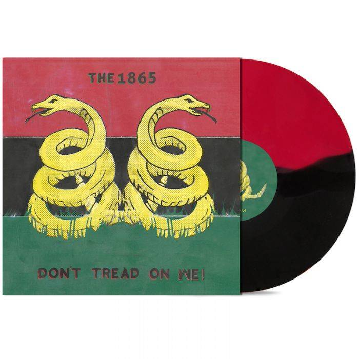 1865, The - Don't Tread On We! [LP] (Red And Black Split Colored Vinyl) - Urban Vinyl | Records, Headphones, and more.
