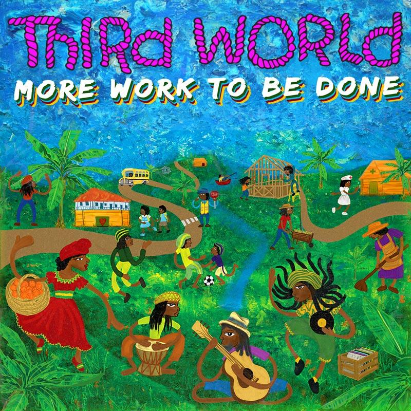 Third World - More Work To Be Done [Cassette] (White cassette body with purple lettering) - Urban Vinyl | Records, Headphones, and more.