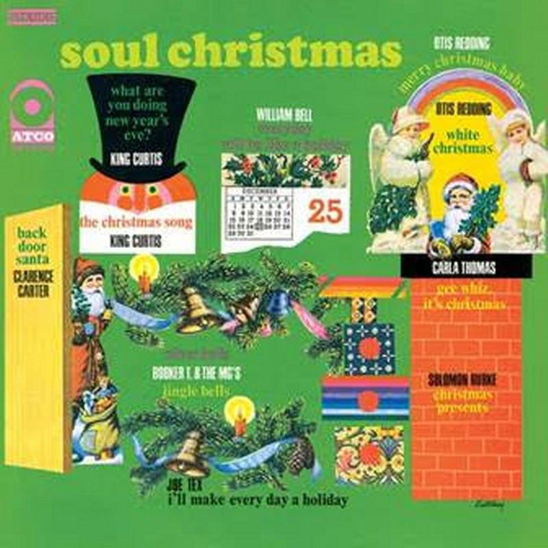 Various Artists - Soul Christmas [LP] (180 Gram Colored Vinyl, feats. Otis Redding, Carla Thomas, Solomon Burke, Booker T. & The MGs, etc., limited/numbered) - Urban Vinyl | Records, Headphones, and more.