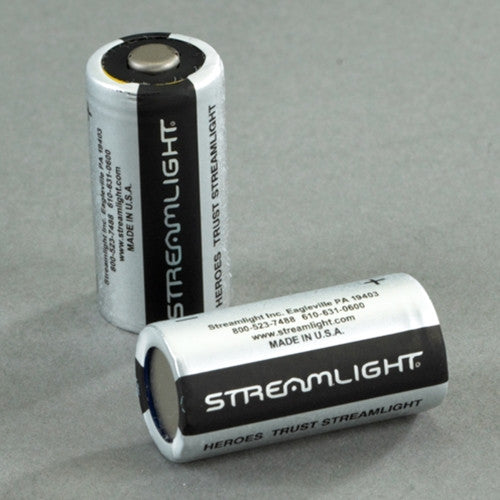 Lithium batteries - 2 Pack