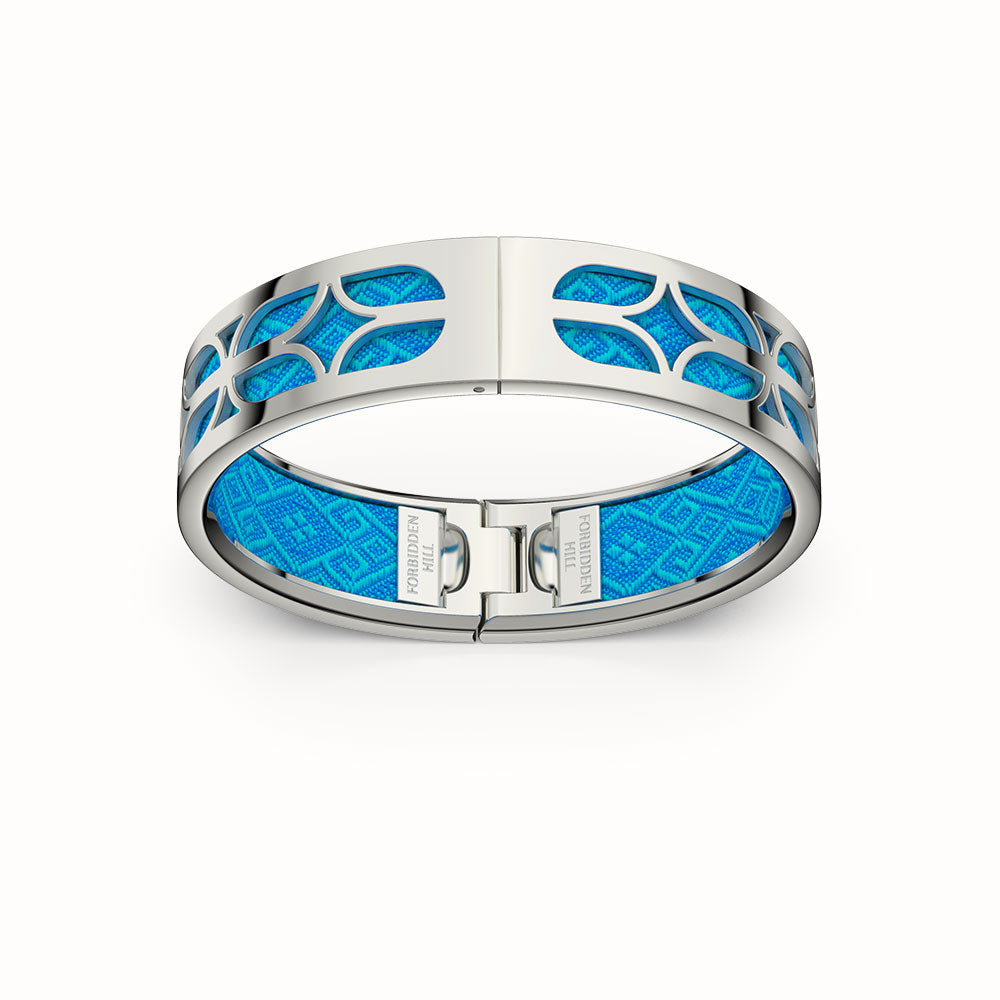 Kawung Bangle - Peranakan Blue