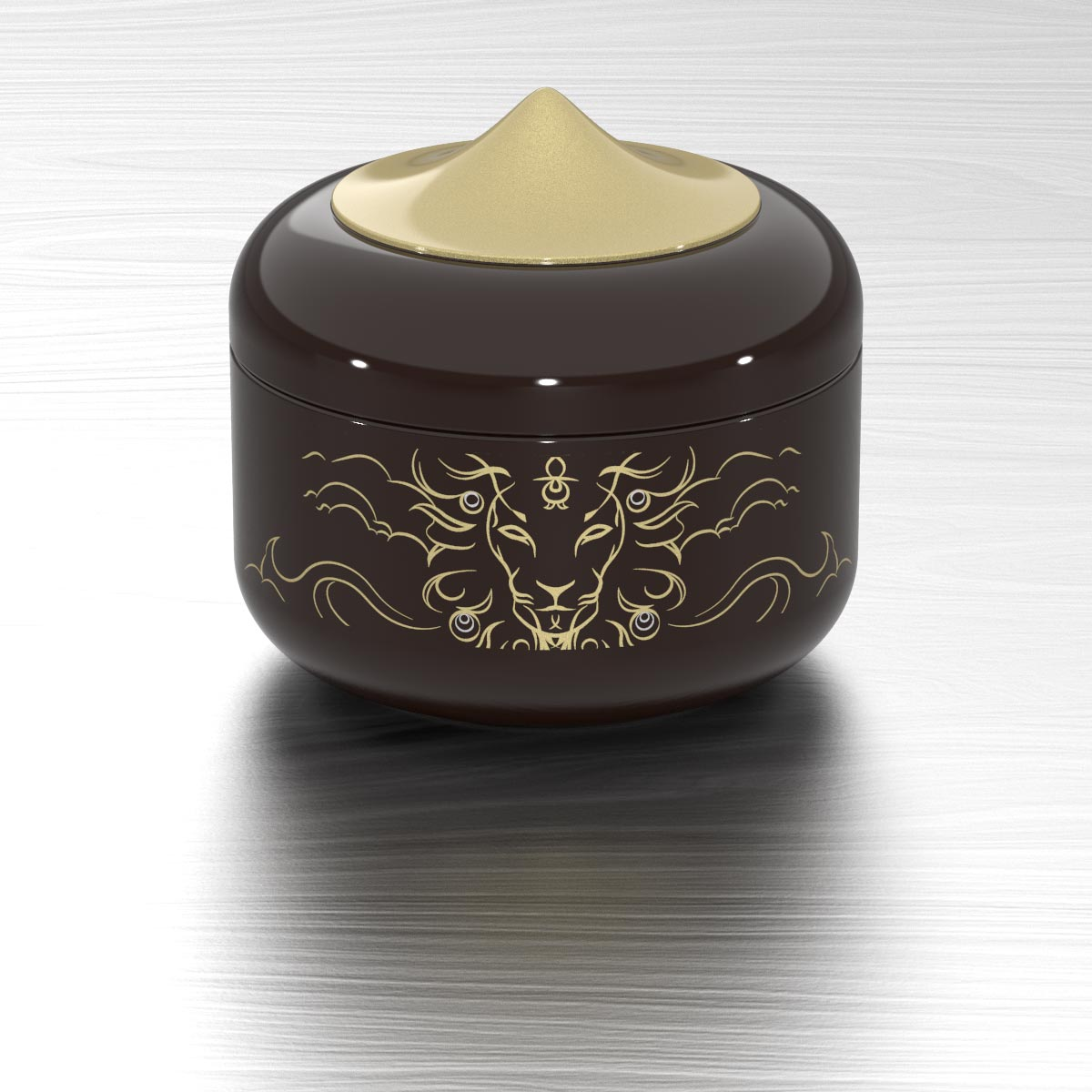 Utama Keepsake Box Kopi Brown