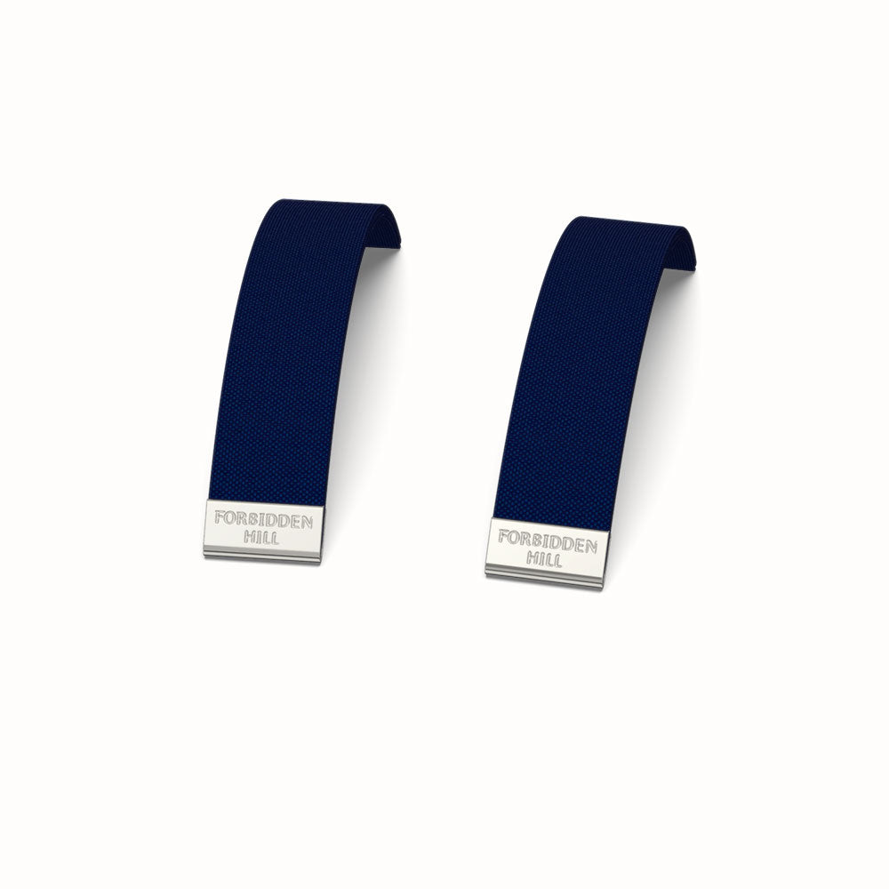 Silk Slides for 16mm Bangle - Midnight Blue