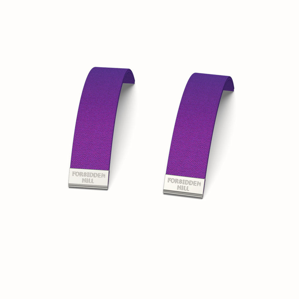 Silk Slides for 16mm Bangle - Orchid Purple