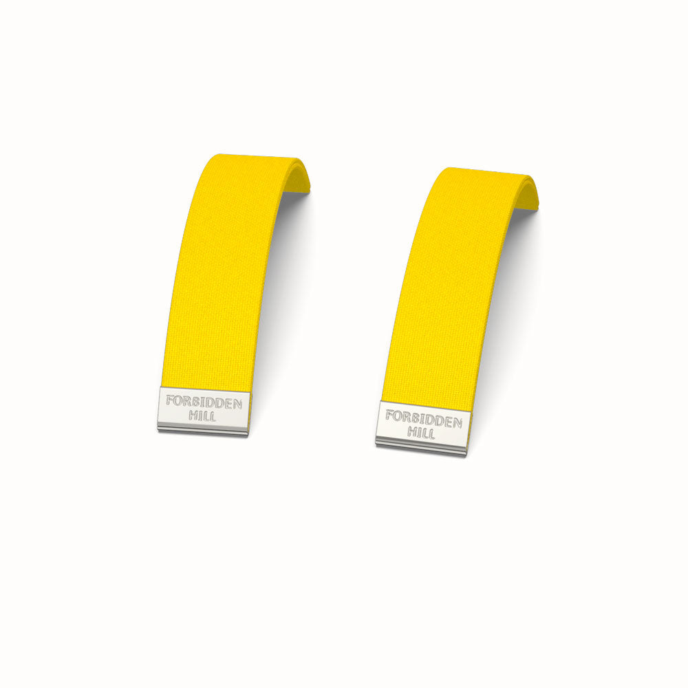 Silk Slides for 16mm Bangle - Pineapple Yellow