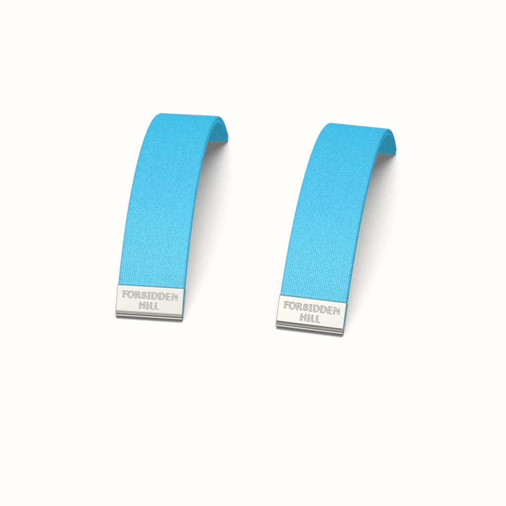 Silk Slides for 16mm Bangle - Turquoise