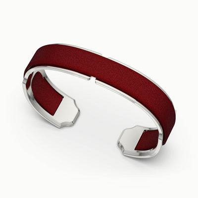 Bare Silk Cuff - Mangosteen Red