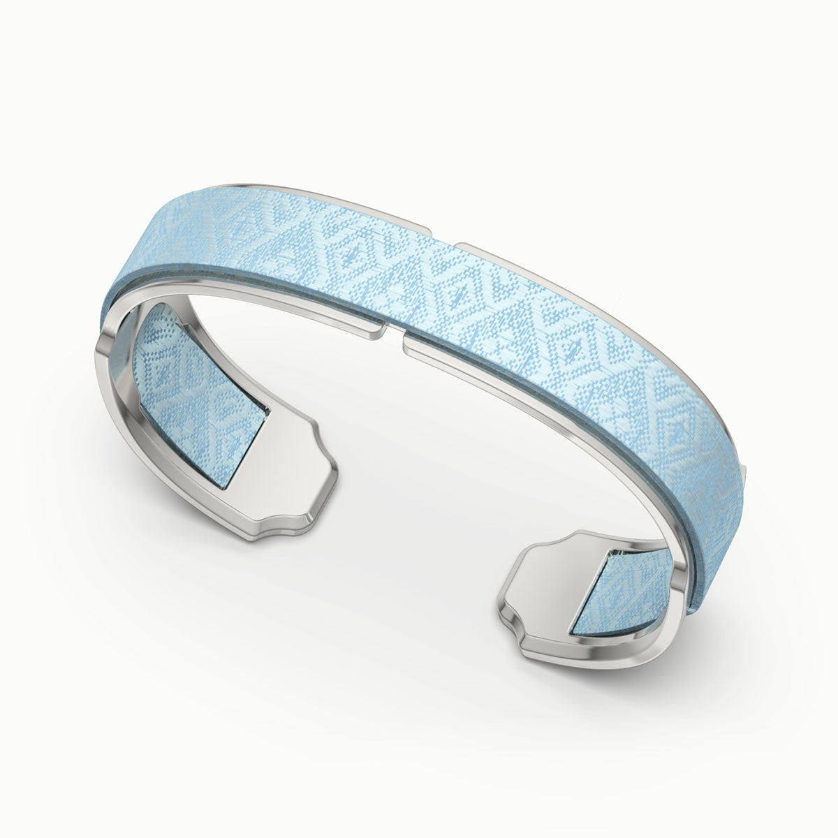 Bare Silk Cuff - Mist Blue