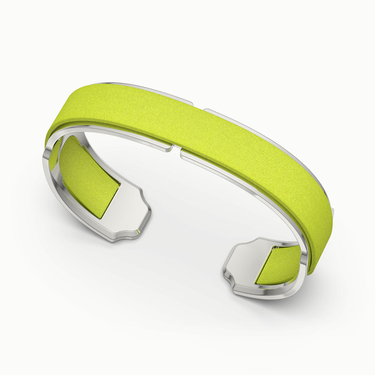 Bare Silk Cuff - Pomelo Green