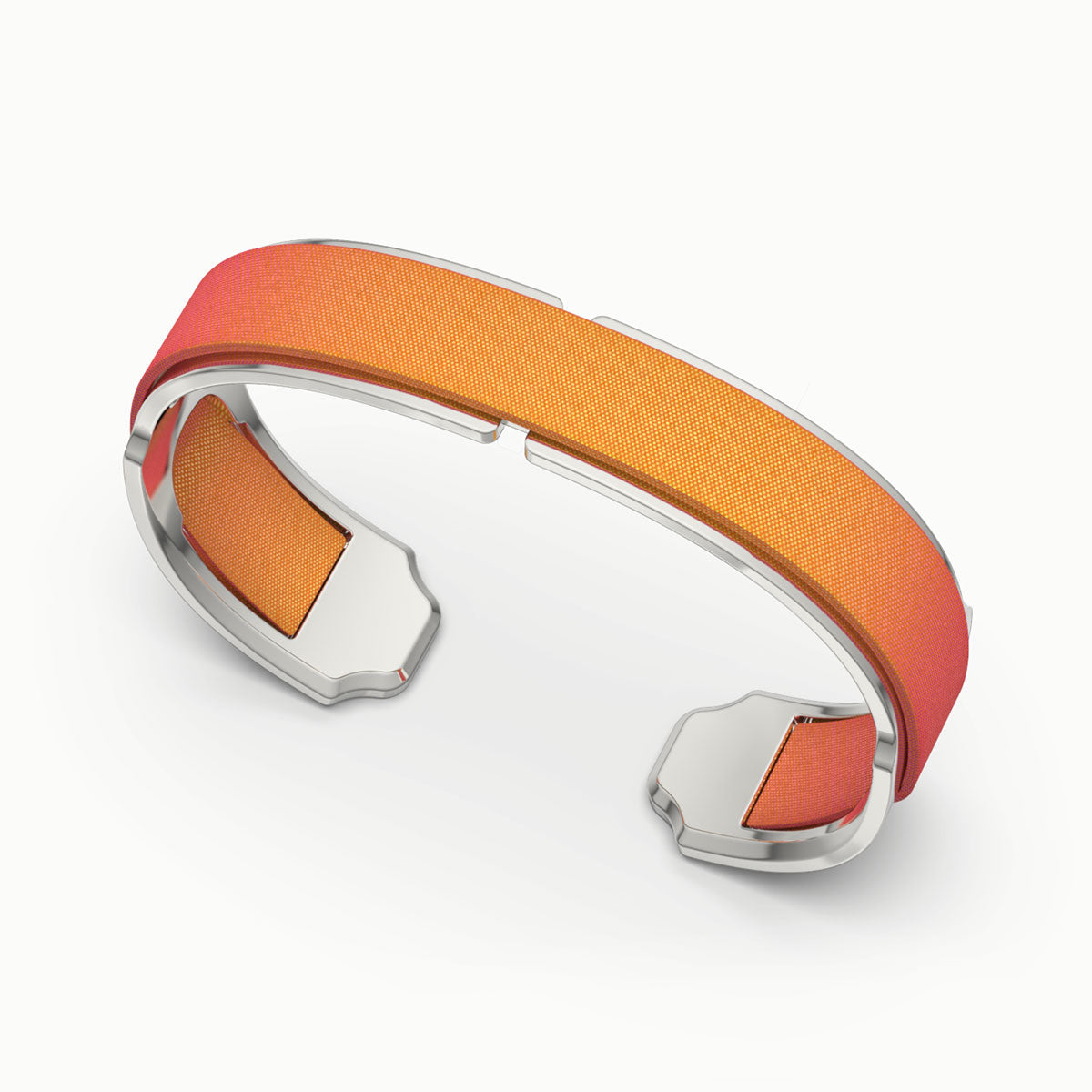 Bare Silk Cuff - Sunset Orange