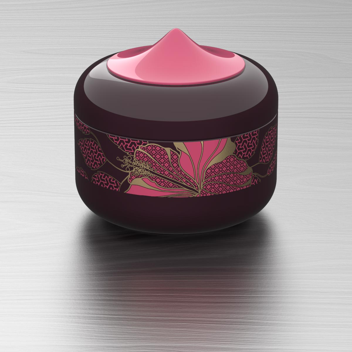 Tropical Queen Keepsake Box