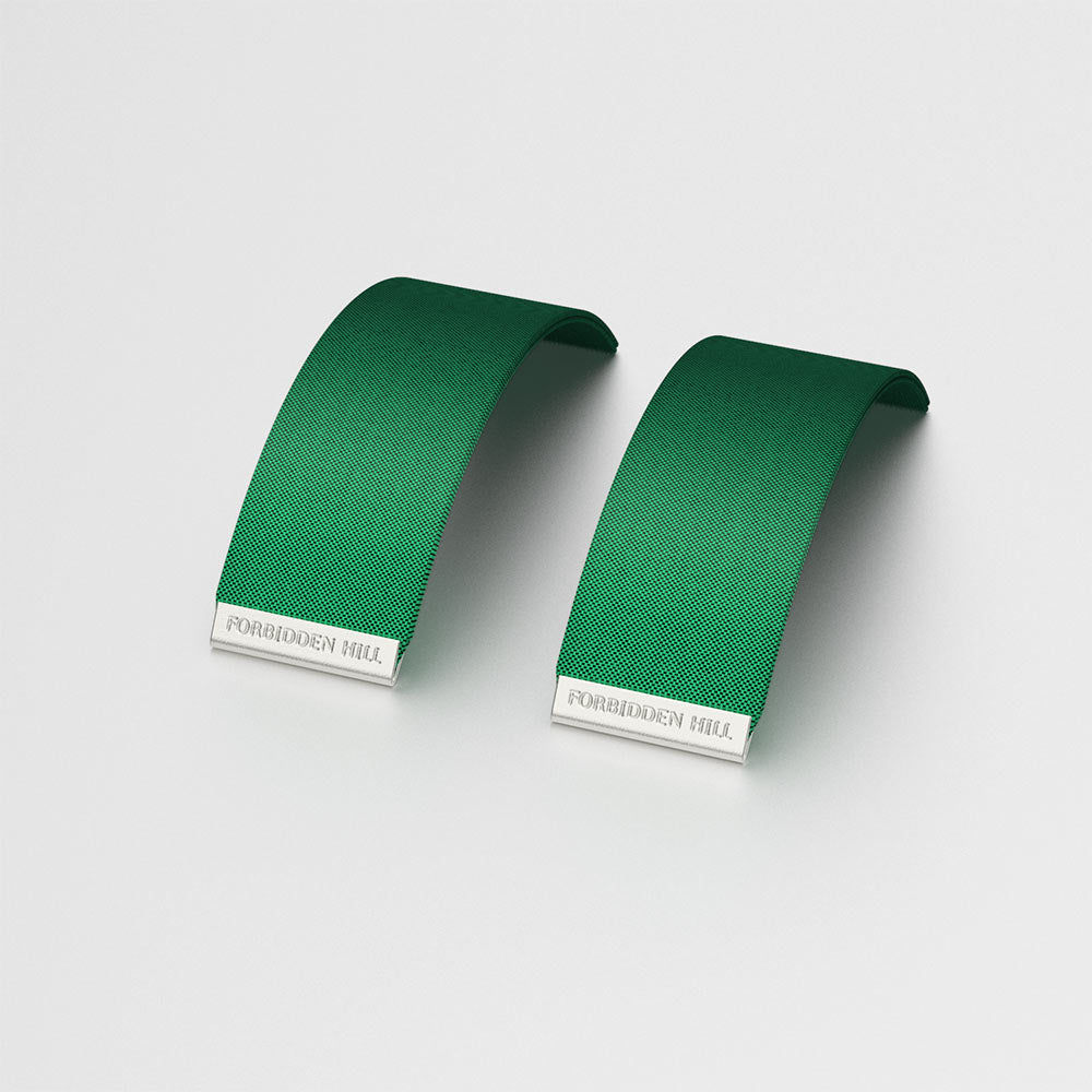 Silk Slides - Emerald Green