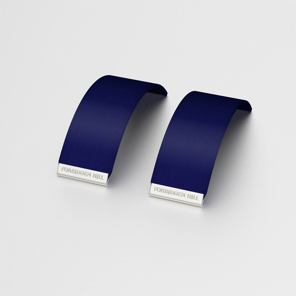 Silk Slides for 24mm Bangle - Midnight Blue