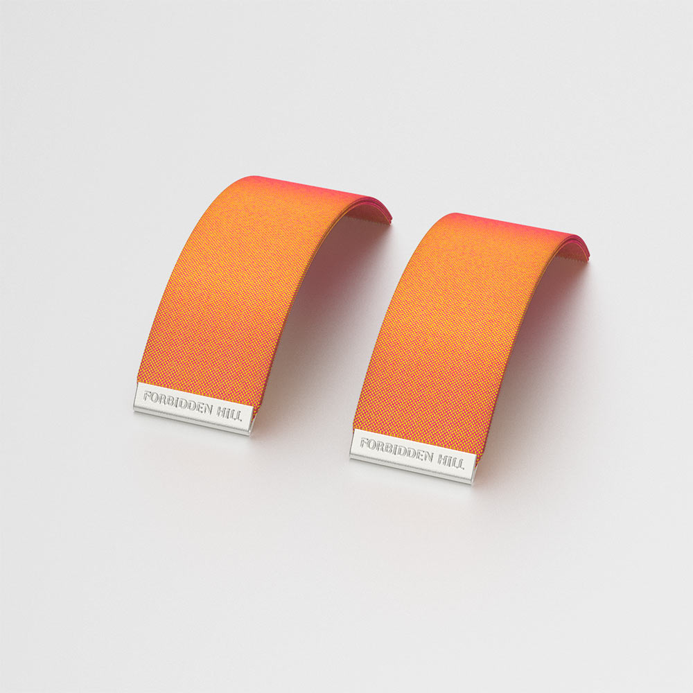 Silk Slides - Sunset Orange