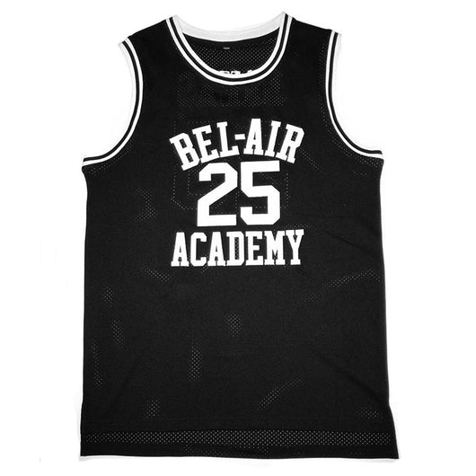 7696e013d7d7 Bel Air Acacdemy Carlton Banks Fresh Prince Basketball Jersey - MOLPE