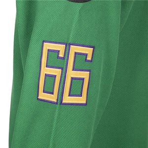 Stitched Letters and Numbers MOLPE Bombay 66 Ducks Waves Jersey S-XXXL Blue 90S Hip Hop Clothing for Party
