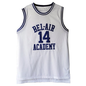 quality design f7bfb 876f1 MOLPE Bel Air Acacdemy Will Smith #14 Fresh Prince Basketball Jersey