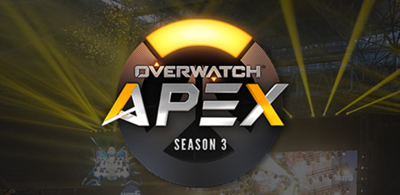 Overwatch OGN Apex Season 3 Group Stage 2!