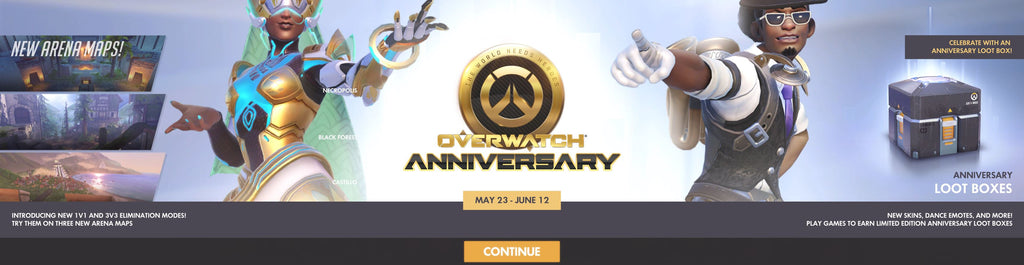 New Overwatch Anniversary Event is Live, and Everything You Need to Know is Right Here