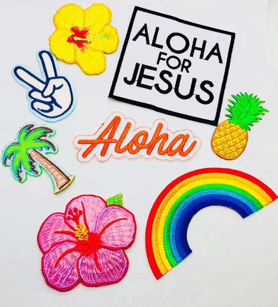 Aloha for Jesus Logo Patch
