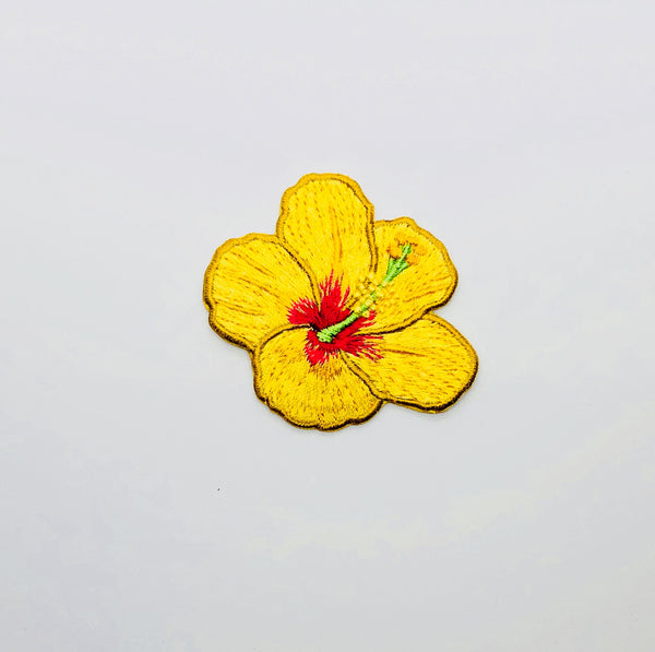 Yellow Hibiscus Patch