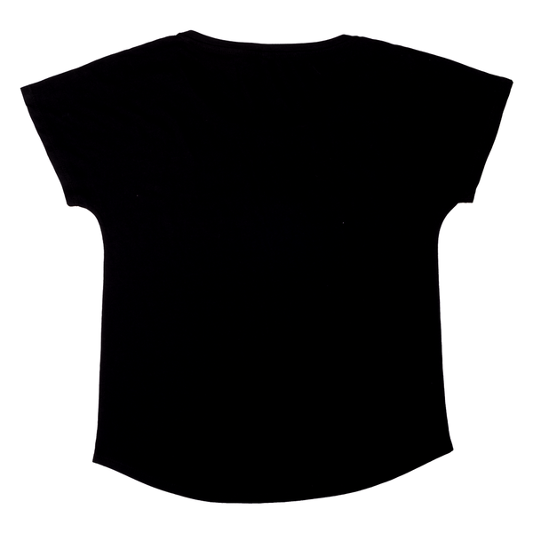 Short Sleeve WAHINE T-Shirt-Black