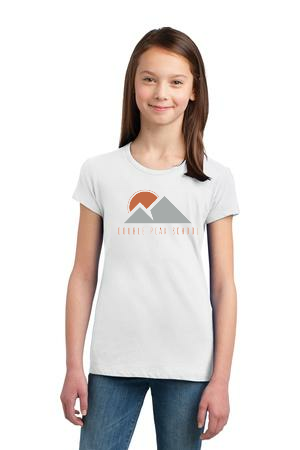 Girls White T-Shirt