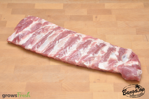 Bangalow Pork - USA Loin Back Ribs - Australian - Frozen