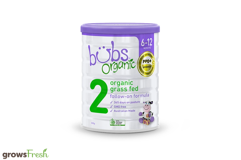 Bubs Organic - Grass Fed Cow Follow On Formula Stage 2 - Australian
